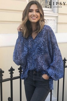 Lipsy Oversized Printed Shirt