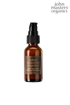 John Masters Organic Green Tea & Rose Hydrating Face Serum 30ml