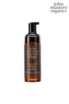 John Masters Organics Eucalyptus & Agave 2-in-1 Face Wash & Shave Foam