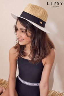 Lipsy Girls Colour Block Fedora Hat