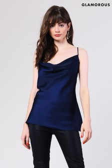 42708449ef87d Glamorous Cowl Neck Cami Top