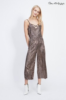 Miss Selfridge Sequin Culotte Jumpsuit