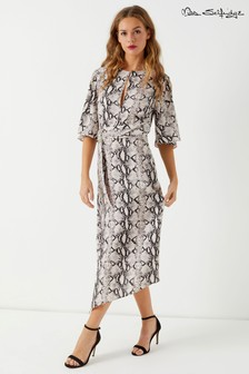 Miss Selfridge Snake Print Dress