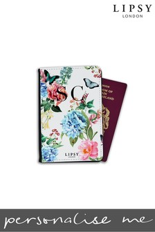 Personalised Lipsy Georgina Floral Print Passport Cover By Koko Blossom
