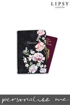 Personalised Lipsy  Naomi Floral Print Passport Cover By Koko Blossom