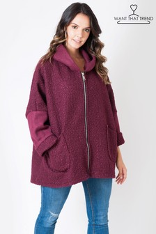 Want That Trend Hooded Coatigan