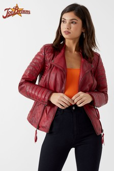 Joe Browns Quilted Leather Jacket