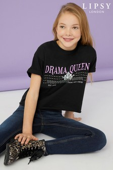 Lipsy Girl Drama Queen Tee