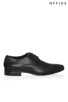 Office Leather Derby Shoes