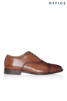 Office Leather Oxford Shoes