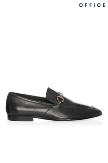 Office Leather Loafers