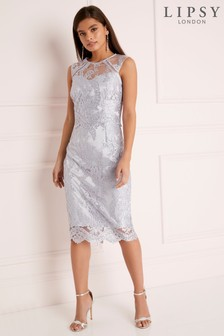 408b4176 Silver Dresses | Long & Metallic Silver Dresses | Next UK