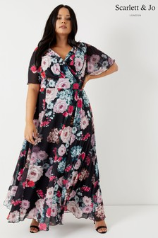 Scarlett & Jo Curve Floral Maxi Dress