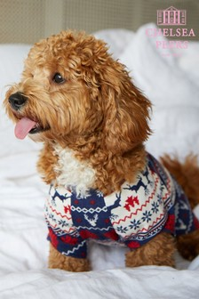 Chelsea Peers Fairisle Dog PJ Set