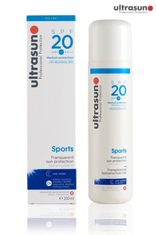 Ultrasun 20 SPF Sports Gel 200ml