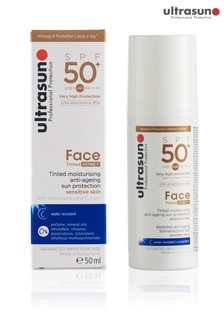 Ultrasun 50 SPF Tinted Face Honey 50ml