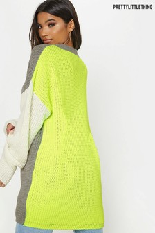 PrettyLittleThing Colour Block Jumper
