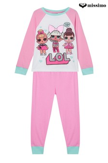Missimo Raglan Long Sleeve Long Leg PJ Set