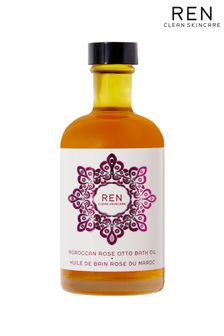 REN Moroccan Rose Otto Bath Oil 100ml