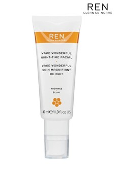 REN Wake Wonderful Night Time Facial 40ml