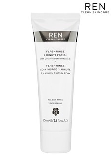REN Flash Rinse 1 Minute Facial Water Activated Vitamin C