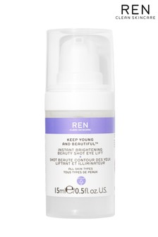 REN Keep Young and Beautiful Instant Brightening Beauty Shot Eye Lift 15ml