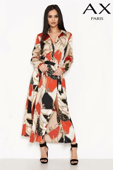AX Paris Printed Shirt Dress