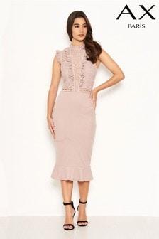 فستان بكشكشة من AX Paris