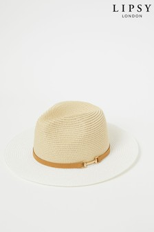Lipsy Snaffle Fedora Hat