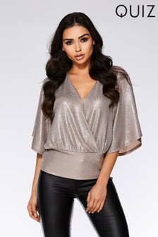 Quiz Batwing Top