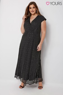 Yours Maxi Beaded Dress