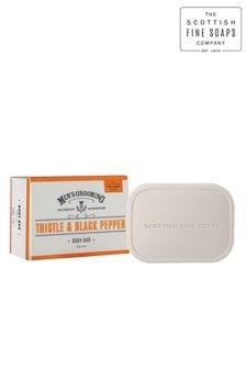 Scottish Fine Soaps Thistle & Black Pepper Body Bar 200g