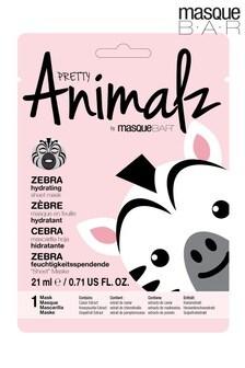 Masque Bar Pretty Animalz Zebra Sheet Mask