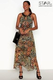 Star By Julien Macdonald Zulu Print Maxi Dress
