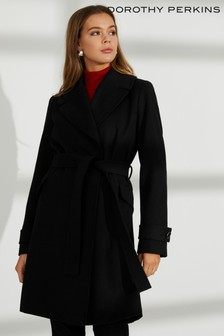 Dorothy Perkins Belt Wrap Coat