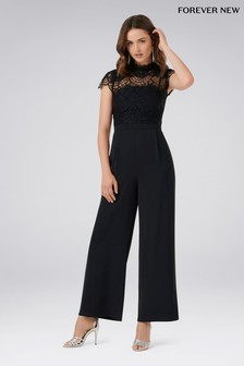 Forever New Petite Wide Leg Jumpsuit