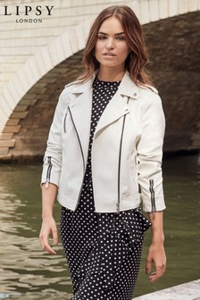 Lipsy Faux Leather Jacket