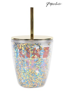 Paperchase Fun Cup With Straw