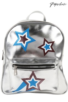 Paperchase Super Future Rebel Star Metallic Backpack
