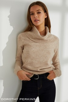 Dorothy Perkins Cowl Neck Jumper