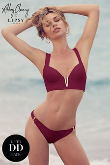 Abbey Clancy x Lipsy V Bar Bikini Top