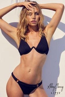Abbey Clancy x Lipsy Ring Detail Bikini Bottom