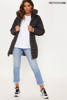 PrettyLittleThing Longline Padded Coat