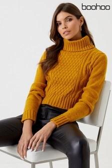 9e08c7f940 Buy Women's knitwear Knitwear Jumpers Jumpers Boohoo Boohoo from the ...