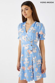 Vero Moda Petite Short Sleeve Mini Dress
