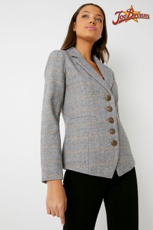 Joe Browns Check Button Up Blazer