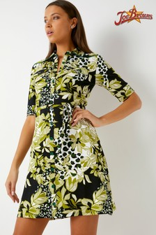 Joe Browns Button Up Printed Dress