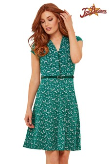 Joe Browns All New Vintage-Kleid mit Streublumenmuster