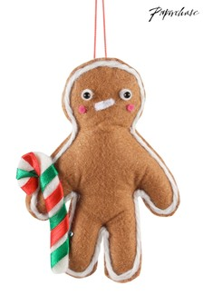 Paperchase Felt Gingerbread Man Christmas Decoration