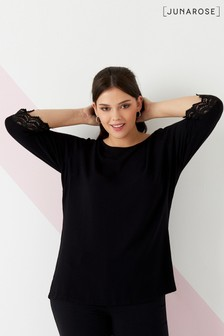Junarose Curve Three-Quarter Sleeve Blouse